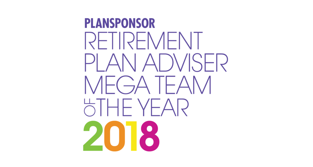 2018 Retirement Plan Advisor of the Year Awards and Recognitions.